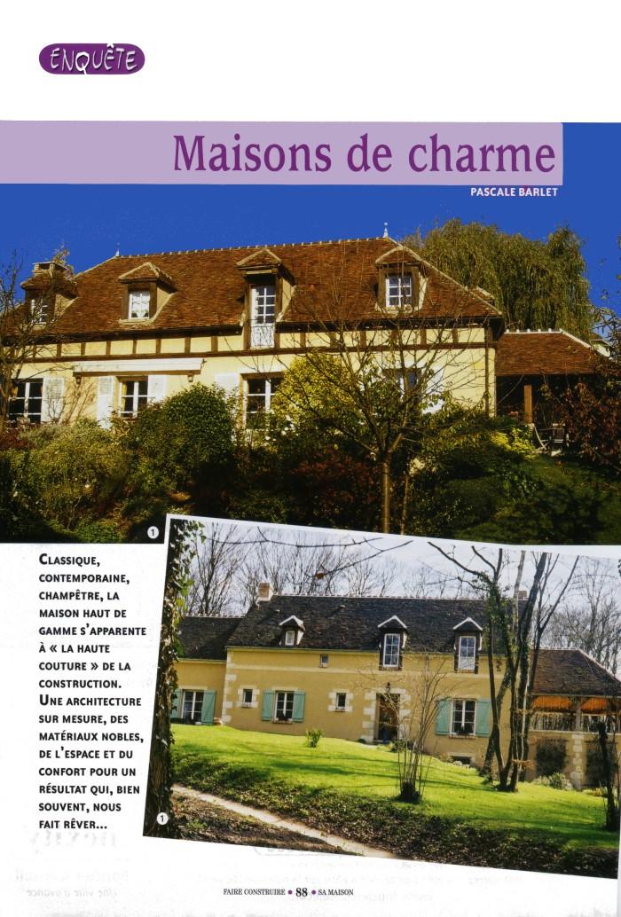Serge gautier for Construire sa maison yvelines